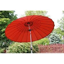 Windproof Patio Umbrella Exclusive 24 Rib 9 Wind Resistant Fiberglass Patio