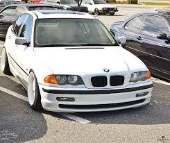 bmw stanced bmw e46 3 series stanced on white wheels shaun rodecker flickr