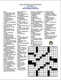 easy crossword puzzles about movies 59 best crossword puzzles images on pinterest crossword crossword