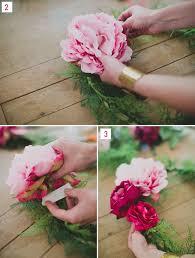 wedding wreaths diy silk flower wreath