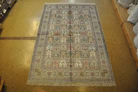 Ebay Antique Persian Rugs by 6x9 Multi Color Light Gray Bakhtiari Style Rugs Handmade Silk
