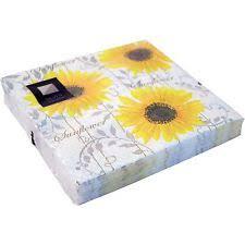 sunflower paper napkins ebay