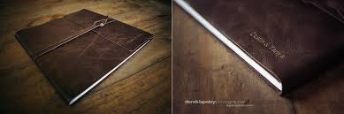 rustic wedding photo albums leather bound wedding albums brianca designs