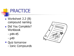 2 2 ionic compounds polyatomic ppt video online download