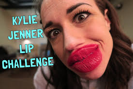 Challenge Up The Nose Jenner Lip Challenge