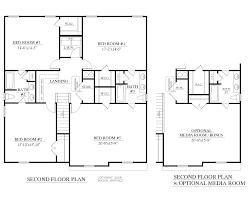 Storey Bedroom House Plans Providence Ii Model Hs111 Second Floor