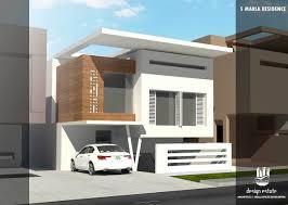 3d home design 5 marla modern house design by 360 design estate 5 marla house