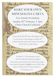design your own home ireland make your own mini magna carta workshop christ church cathedral