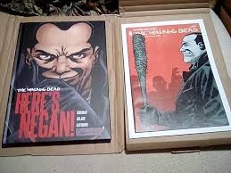 Barnes And Noble In Cincinnati Ohio Here U0027s Negan Barnes And Noble Exclusive Hardcover The Slab Life