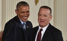 what obama told tom hanks on yacht cnn video