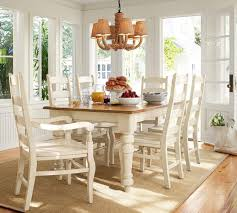 classic dining table rectangular wooden pottery barn kitchen ideas