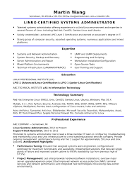 information technology resume template 2 sle resume for a midlevel systems administrator