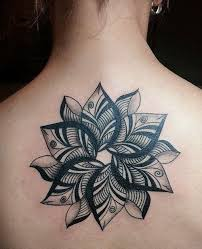 35 gorgeous geometric flower tattoos amazing ideas