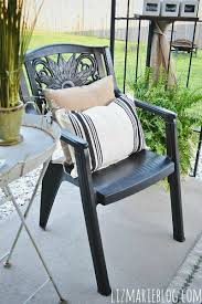 Paint For Outdoor Plastic Furniture by How To Paint Plastic Furniture U0026 A Makeover Liz Marie Blog