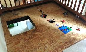 diy concrete floor this bargain version is so easy to create