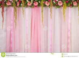 wedding backdrop vector beautiful backdrop flowers arrangement for wedding ceremony stock
