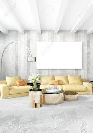 canapé luxe design chambre moderne canapé jaune style minimal de luxe design loft