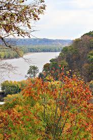 autumn mississippi river dubuque iowa autum iowa