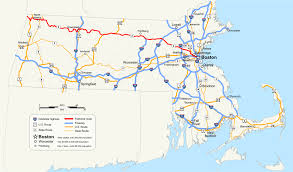 Scenic Route Map by Massachusetts Route 2 Wikipedia