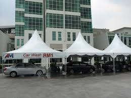 Canopy Car Wash by Automall In Karpal Singh Drive Penang