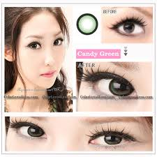 eos candy green colored contacts pair wm208 green 19 99