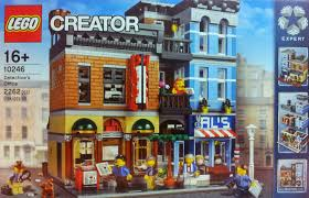 playing with bricks lego 10246 detective u0027s office a first look