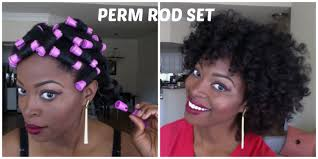 black rod hairstyles for 2015 perm rod set on natural hair using crochet braid method for