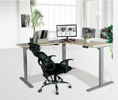 Sit Stand Office Desk by Aliexpress Com Buy Sit Stand Desk Lift Desk The Desk Office