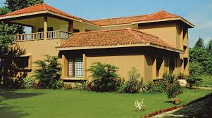 main elevation image of vedic realty farm bungalows unit