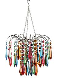 Multi Coloured Chandeliers Waterfall Chandelier Multi Colored