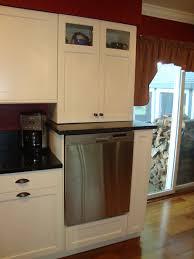 raised kitchen cabinets raised dishwasher kitchen cabinets white cabinet kitchen columbia