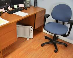 cold in your cubicle job use an underdesk heater