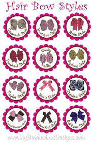 different types of hair bows this is our page bowtiful bottlecap boutique