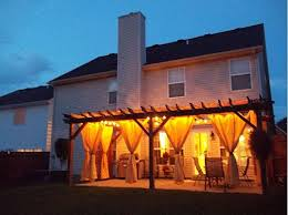 Outdoor Pergola Lights by 22 Best Deck And Pergola Images On Pinterest Patio Ideas