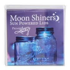 solar light crafts amazon com 1 primitives by kathy antique silver moon shiner