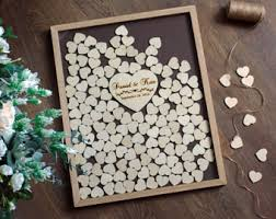 unique wedding guest books guest book ideas etsy