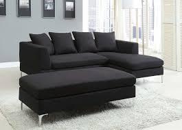 Modern Black Sofas Black Sectional Sectional Sofa Book Of Stefanie Black