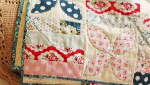 patchwork quilt notes from the kitchen table