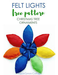 cute diy christmas tree decorations tutorial applegreen cottage