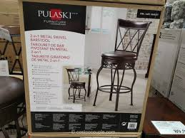 Outdoor Bar Stools Costco Pulaski 2 In 1 Barstool