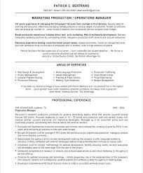 Production Manager Resume Template Sample Product Manager Resume Project Manager Cover Letter Sample