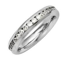 highway wedding band steel by design rings jewelry qvc