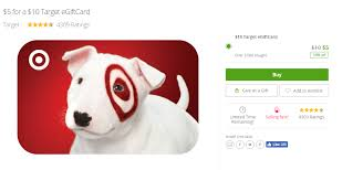 half price gift cards it s baaaaaaack hurry target giftcards are half price and going