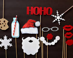 Christmas Photo Booth Props Holiday Photobooth Props Christmas Photo Booth Props