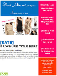 free brochure templates microsoft word templates