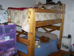 Dorm Room Loft Bed Plans Free by Full Size Bunk Beds In A Dorm Room Op Loftbed