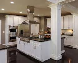 kitchen island columns kitchen island with pillar theedlos