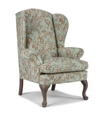best home furnishings chairs wing back sylvia wing back chair