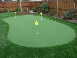 triyae com u003d real putting green backyard various design