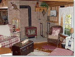 Log Home Decorating Country Cabin Decor A Log Cabin In Canada
